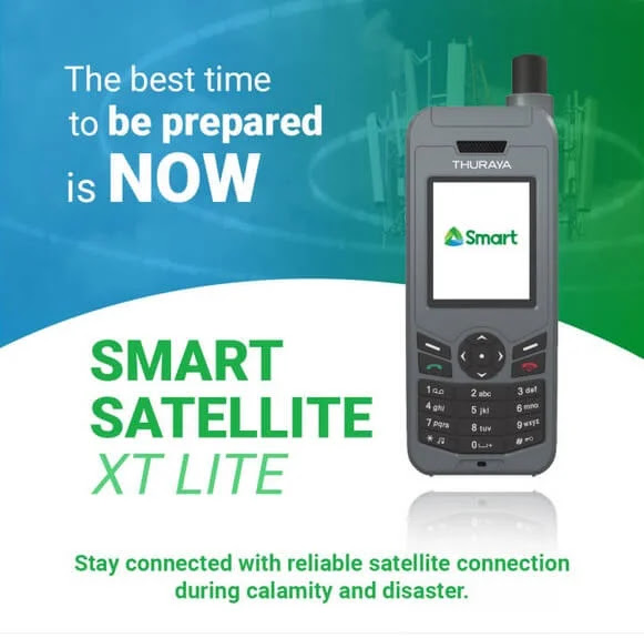 Smart Unveils Satellite Phone and Services on Lazada