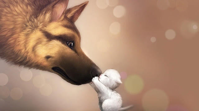 animated cute dog wallpapers