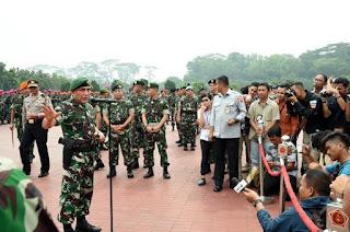 Pangkostrad : TNI-Polri Siap Amankan Tamu Negara, Raja Arab Saudi Dan KTT IORA