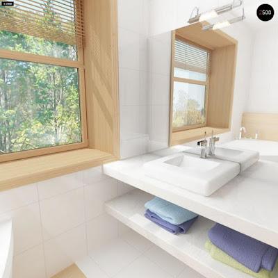 Cách bố trí nội thất phòng tắm