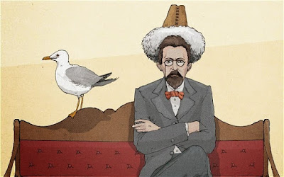 Ο Τσέχωφ και ο Γλάρος / Anton Chekhov and a Seagull