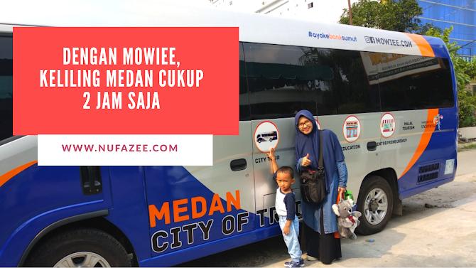 Dengan Mowiee, Keliling Kota Medan Cukup 2 Jam Saja