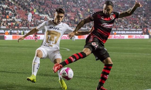 En duelo de técnicos argentinos, Pumas goleó a Tijuana en la Liga de México