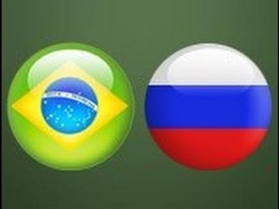 Rússia x Brasil fazem amistoso nessa sexta-feira 23/03/2018 Ver Horario