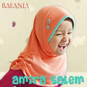 Jilbab Rafania Model Amira Warna Salem