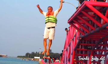 aktivitas wisata seru di pulau tidung besar kepulauan seribu