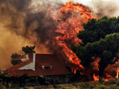 At least 50 people are killed in Greece wildfires