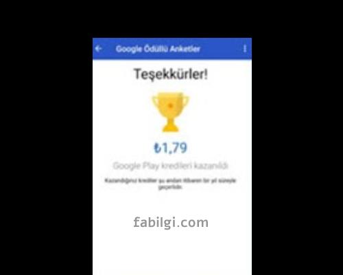Google Ödüllü Anketler Anket Gelmiyor Sorunu Çözümü 2021
