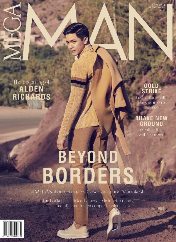 Maine Mendoza and Alden Richards grace covers of MEGA Magazine Ocober 2016 issue