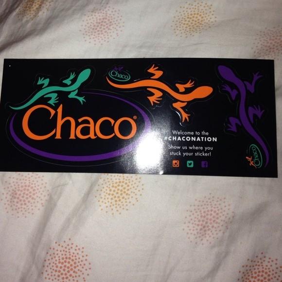 FREE Chaco Stickers - Profreebies-fan