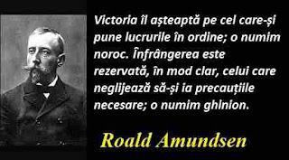 Maxima zilei: 16 iulie - Roald Amundsen