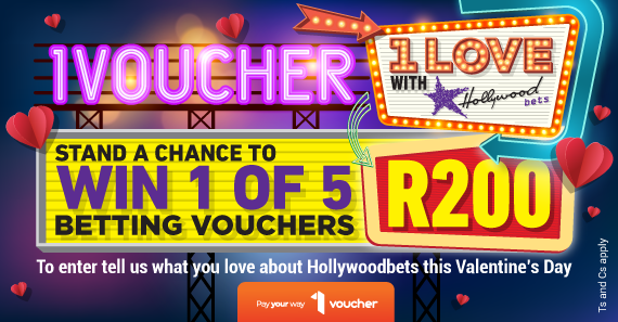 Stand a Chance to win 1 of 5 R200 Betting Vouchers