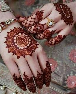 simple mehndi designs for wedding