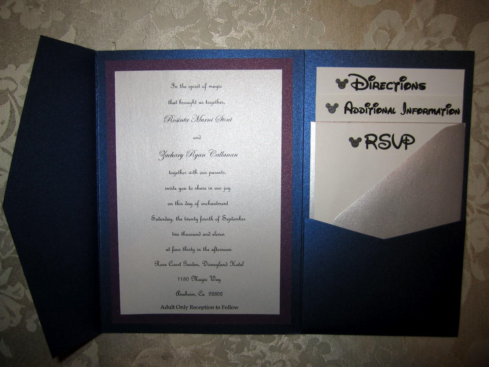 fairy themed invitations