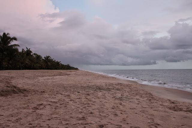 Marari beach  in Alappey - Kerala