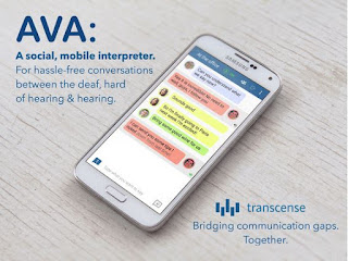 AVA Empower Deaf To Participate In Social Settings By Translating Conversations In Real-Time