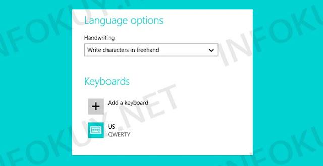 Pilih Keyboard US QWERTY - Keyboard Laptop Tidak Berfungsi