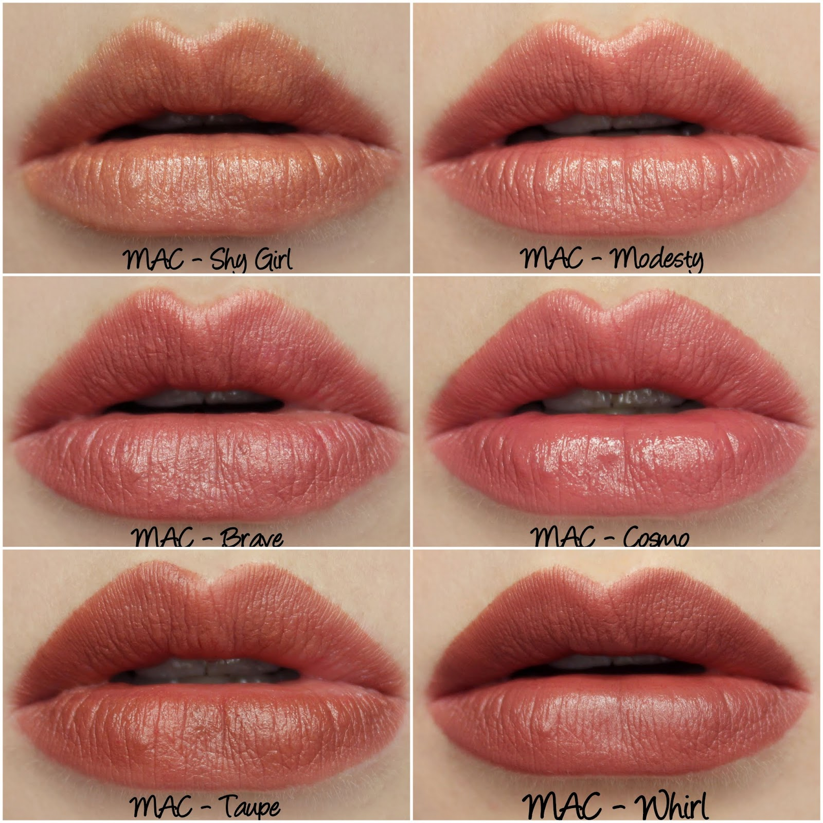 Popolare MAC Permanent Nude & Neutral Lipstick Swatches & Review Part Two  EA71