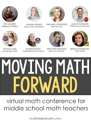 "I am so incredibly excited to be presenting at the Moving Math Forward conference this summer.  My session ""Using Algebra Tiles in Middle School Math"" will cover integers (adding, subtracting, multiplying and dividing), solving equations, simplifying expressions, multiplying polynomials and factoring quadratics. My daughter will make an appearance to help with a prime vs. composite numbers investigation using tiles. I also recorded a short section on how to turn paper algebra tiles into durable tiles that will last for years."