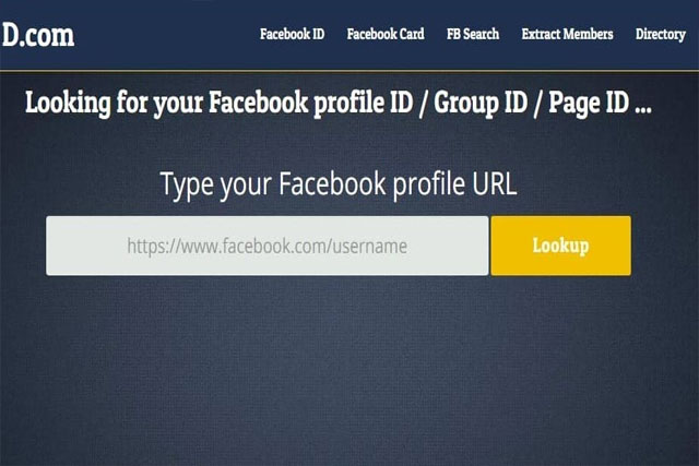 كيفية معرفة ID اي حساب على الفيسبوك