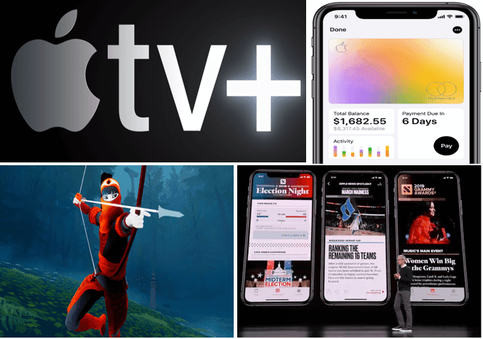 Apple Launches Apple TV+, News+, Games And Credit Card