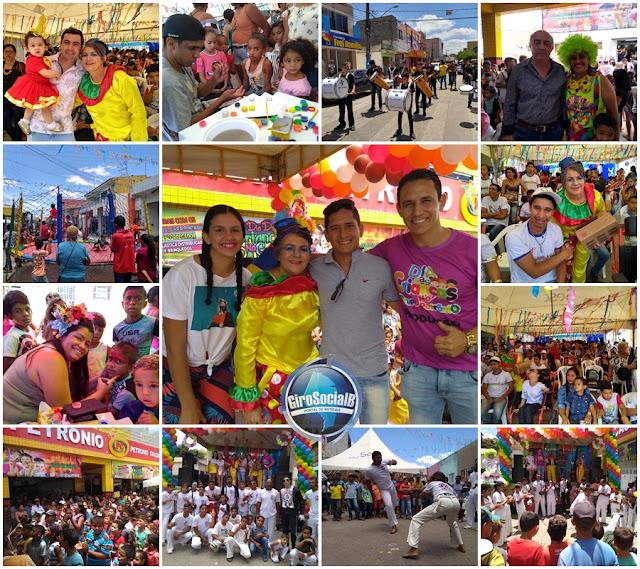 Antecipando o dia,Grupo Petrônio em mais uma edição faz a festa das crianças em Buíque