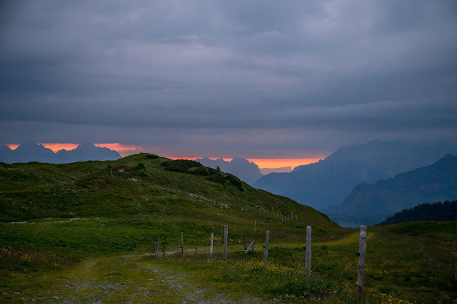 Sonnenaufgangswanderung Spieleckkogel  Wandern in Saalbach 06