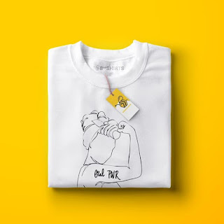 Camiseta Feminista - We Can Do it
