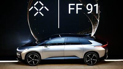 mobil listrik ff91