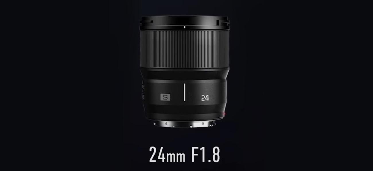 Объектив Pansonic Lumix S 24mm f/1.8