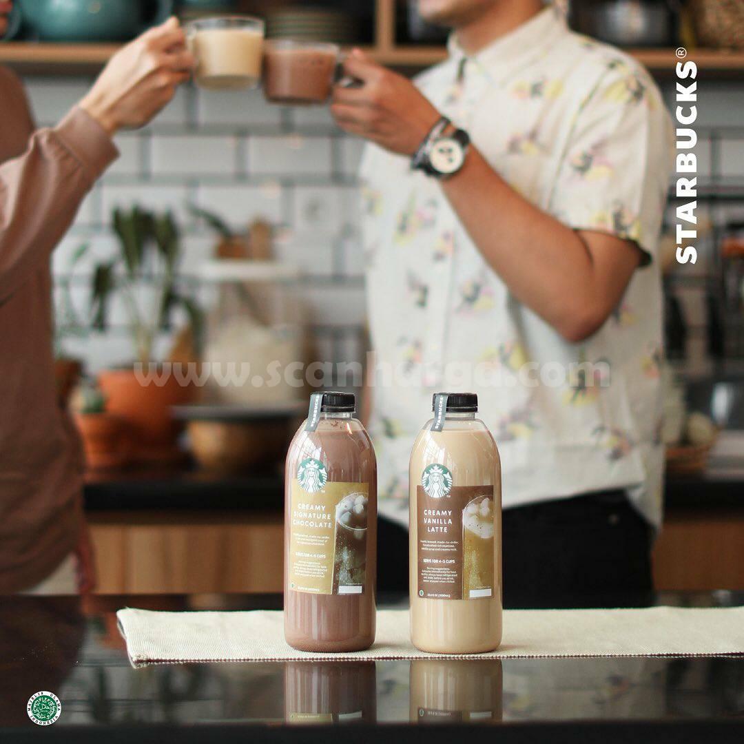 STARBUCKS SHARE TWO-GETHER – Promo Beli 2 Botol varian 1 L cuma 100K