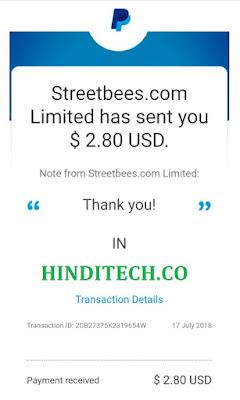 Streetbees Surveys Loot Offer