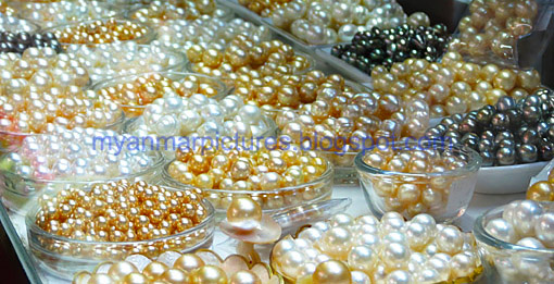 Exporting cultured pearls from the Myeik Archipelago in the south