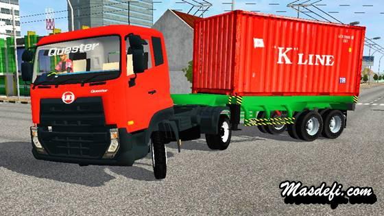 mod truck ud quester trailer peti kemas k-line