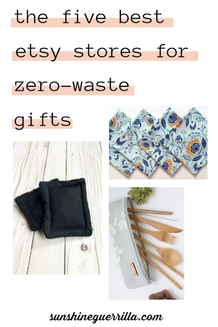 the five best etsy stores for zero-waste gifts