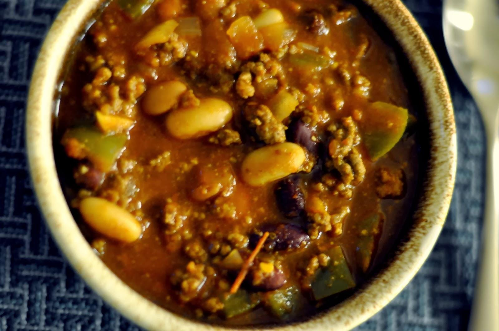 Three Bean Chili | Taste As You Go