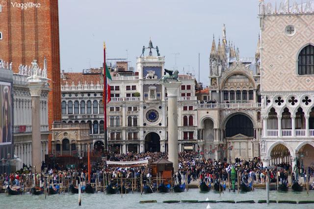 La Piazzetta di San Marco vista dal canale