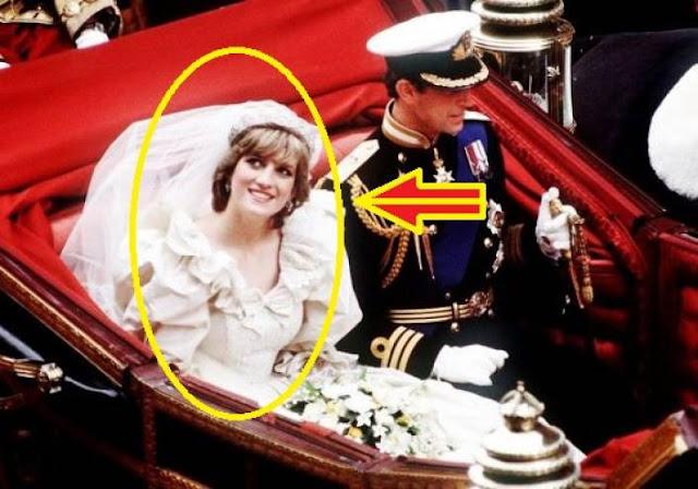 خطأ غريب ومثير للشك ارتكبته الليدي ديانا بحق الأمير تشارلز يوم زفافهما!  اكتشفوا السرّ ...