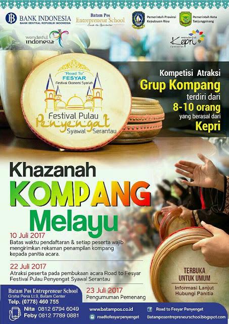 Festival Syawal Serantau 05 Khazanah Kompang Melayu
