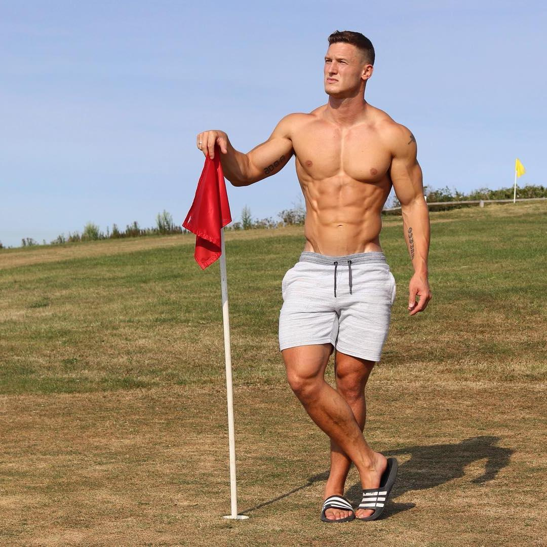 attractive-shirtless-beefy-men-sexy-daddy-strong-fit-muscular-body
