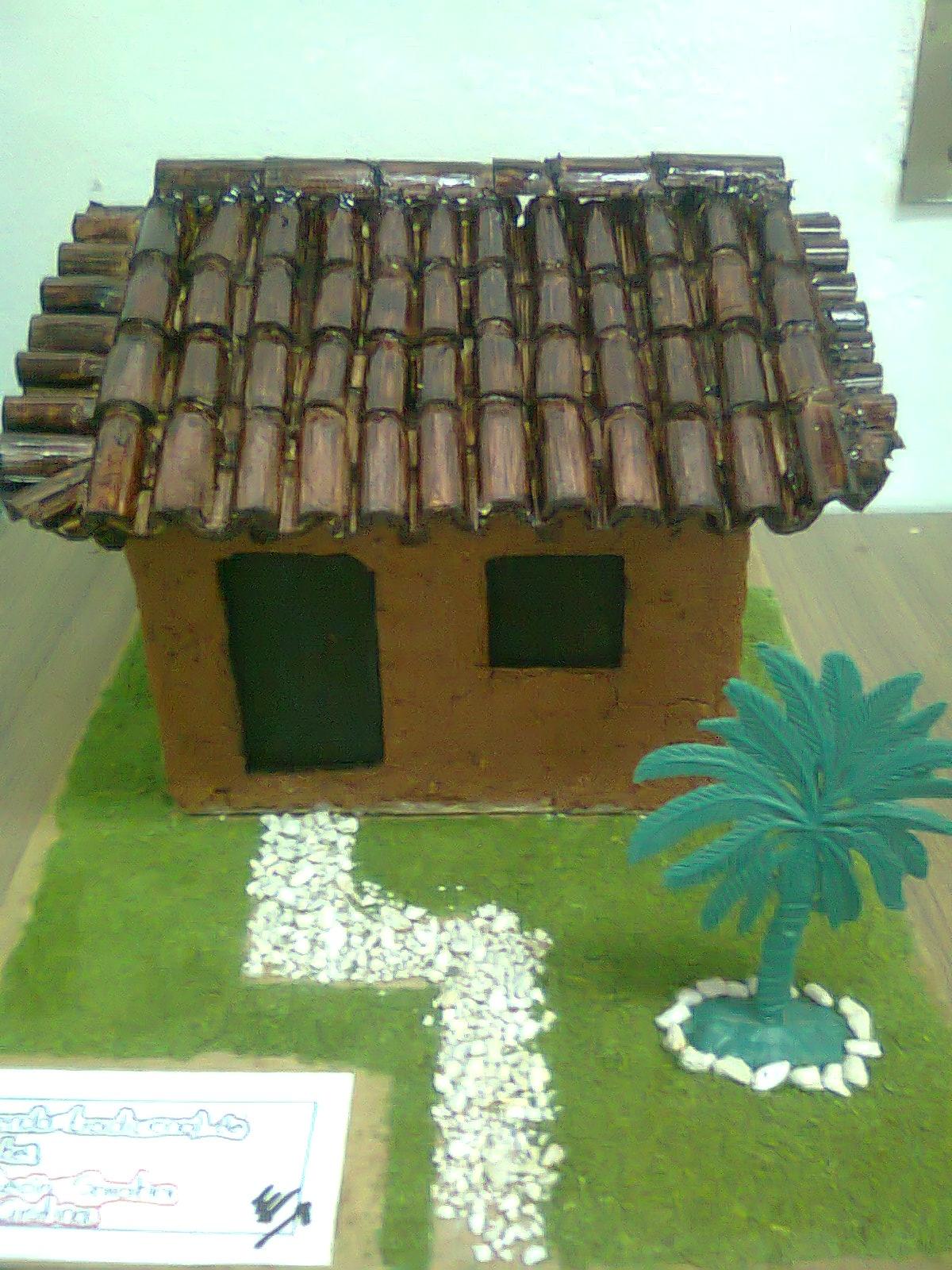 Arodi a uicab marin trabajos realizados en maquetas for Tipos de techos para viviendas