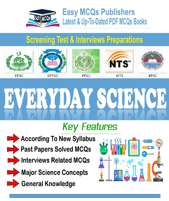 Everyday Science Objective Type Solved MCQs With Answers PDF Book Download