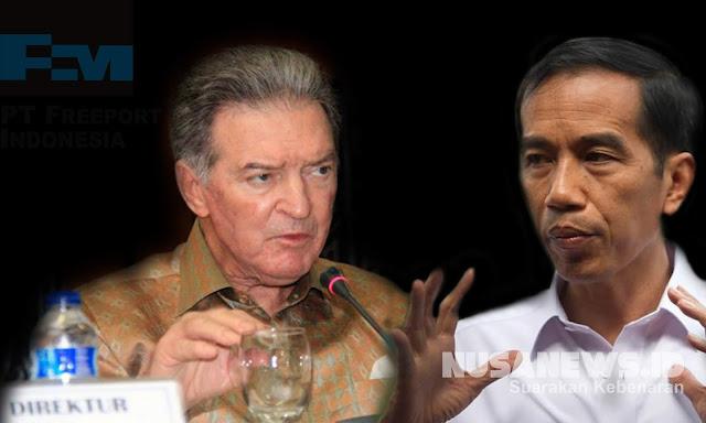 Pakar: Rakyat Patut Mencurigai Pertemuan 'Rahasia' Jokowi-Bos Freeport