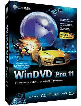 Reproductor Corel WinDVD Pro 11 Español Full