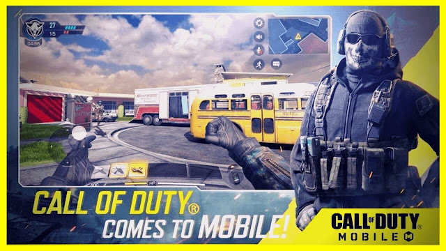 call of duty mobile game launch on 1st October android and iOS devices
