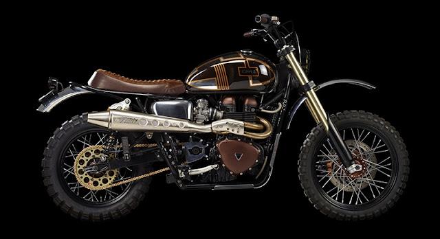 Triumph Bonneville By Ton-Up Garage Hell Kustom