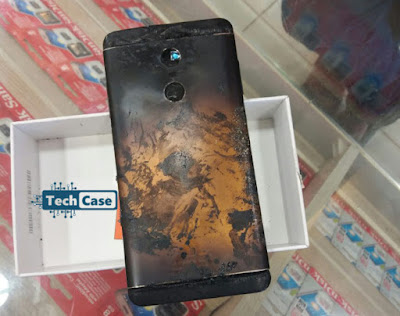 Xiaomi Redmi Note 4 Smartphone  explode in India