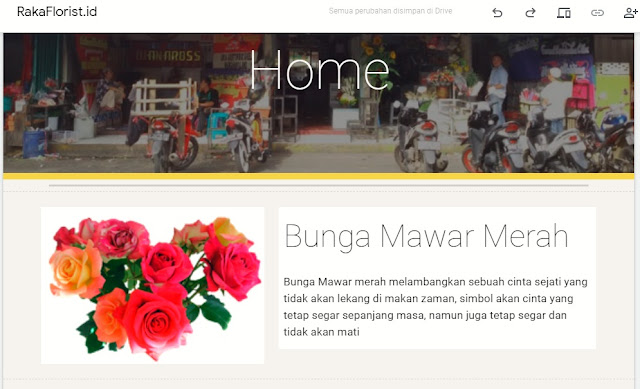 Konten Google Sites