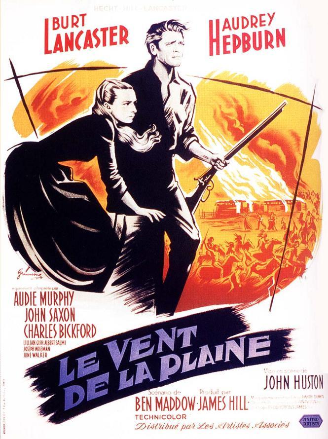Le Vent De La Plaine : plaine, Deblocnot':, PLAINE, Huston, (1960), (comme, Burt)