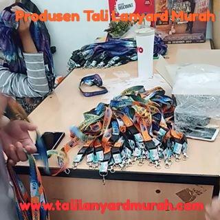 Produsen percetakan tali lanyard murah